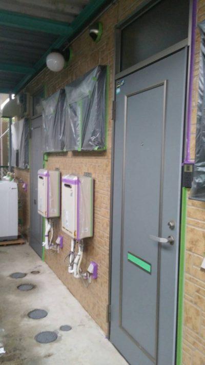 藤沢市メゾンタイプ塗装工事の写真