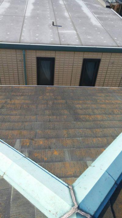 戸塚区の屋根を塗り替える前の写真