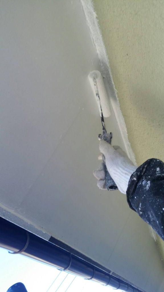 天井塗装の写真