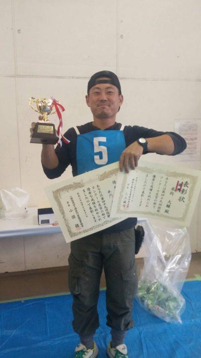 神奈川技能コンクールに出場した写真