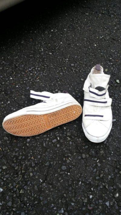 屋根専用靴の写真